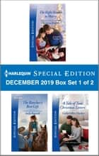 Harlequin Special Edition December 2019 - Box Set 1 of 2 ebook by Christine Rimmer, Stella Bagwell, Cathy Gillen Thacker