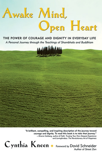 Awake Mind, Open Heart - The Power of Courage and Dignity in Everyday Life ebook by Cynthia Kneen