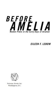 Before Amelia ebook by Eileen F. Lebow