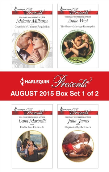 Harlequin Presents August 2015 - Box Set 1 of 2 - An Anthology ebook by Melanie Milburne,Carol Marinelli,Annie West,Julia James