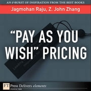 ¿Pay As You Wish¿ Pricing ebook by Raju, Jagmohan