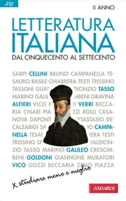 Letteratura italiana. Dal Cinquecento al Settecento - Sintesi .zip ebook by Piero Cigada