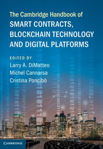 The Cambridge Handbook of Smart Contracts, Blockchain Technology and Digital Platforms (Law Reference & Language) photo