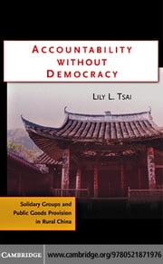 Accountability Without Democracy ebook by Tsai,Lily L.