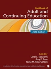 Handbook of Adult and Continuing Education ebook by Carol E. Kasworm,Amy D. Rose,Jovita M. Ross-Gordon