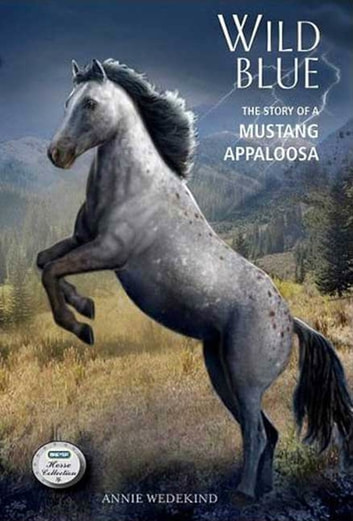 Wild Blue - The Story of a Mustang Appaloosa ebook by Annie Wedekind
