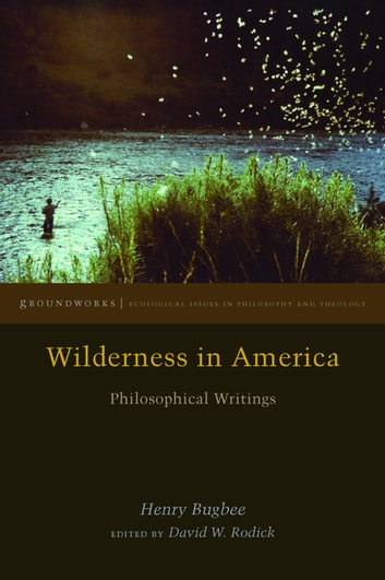 Wilderness in America - Philosophical Writings ebook by Henry Bugbee