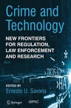 Crime and Technology ebook by Ernesto U. Savona