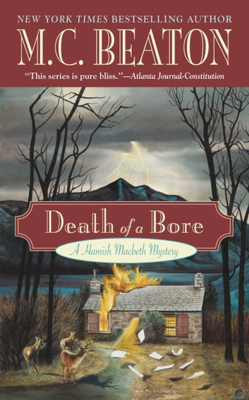 Death of a Bore ebook by M. C. Beaton
