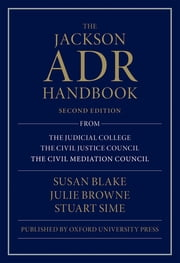 The Jackson ADR Handbook ebook by Susan Blake,Julie Browne,Stuart Sime