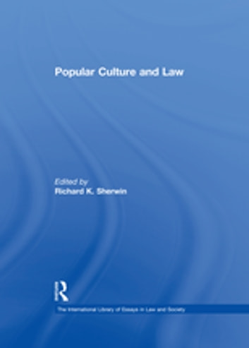 Popular Culture and Law ebook by
