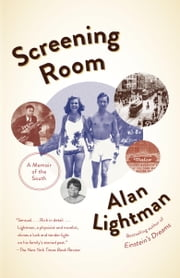 Screening Room - Family Pictures ebook by Alan Lightman