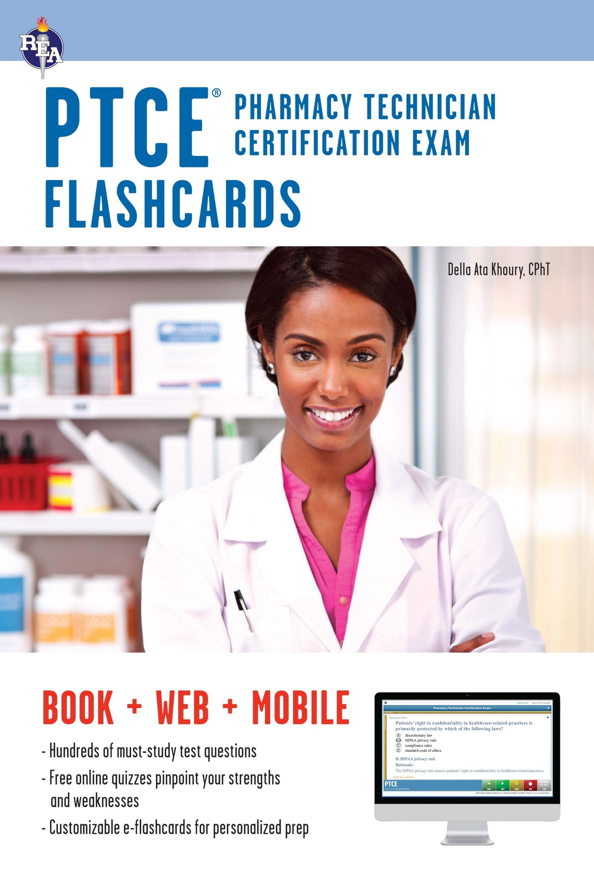 Ptce pharmacy technician certification exam flashcard book ptce pharmacy technician certification exam flashcard book online ebook by della ata khoury 9780738684451 rakuten kobo xflitez Choice Image