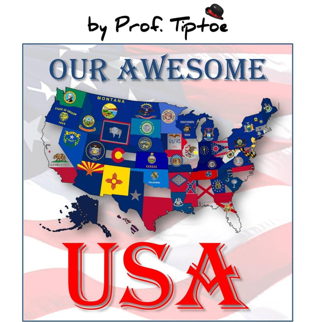My awsome usa ebook by prof tiptoe 9781497751064 rakuten kobo fandeluxe Epub