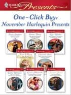 One-Click Buy: November Harlequin Presents ebook by Susan Stephens,Emma Darcy,Kate Walker,Trish Morey,Chantelle Shaw,Cathy Williams
