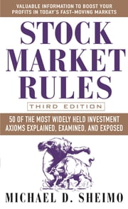 Stock Market Rules ebook by Michael Sheimo