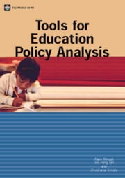 Tools for Education Policy Analysis: ebook by Mingat, Alain