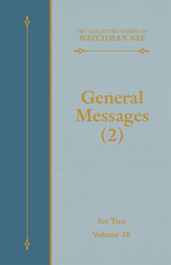 General Messages (2) 電子書 by Watchman Nee