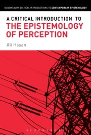 A Critical Introduction to the Epistemology of Perception ebook by Ali Hasan