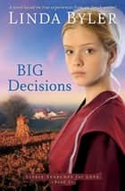 Big Decisions - A Novel Based On True Experiences From An Amish Writer! ebook by Linda Byler