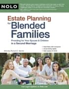 Estate Planning for Blended Families ebook by Richard Barnes Attorney