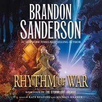 Rhythm of War ljudbok by Brandon Sanderson, Kate Reading, Michael Kramer