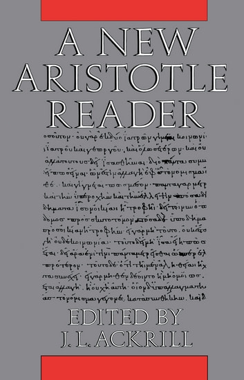A New Aristotle Reader ebook by