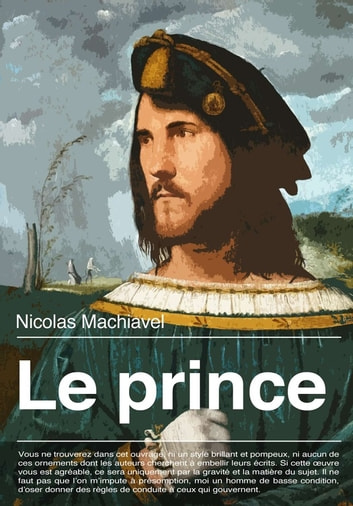 Le prince ebook by Nicolas Machiavel