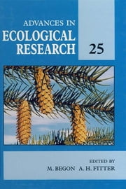 Advances in Ecological Research ebook by M. Begon,Alastair H. Fitter
