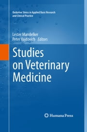 Studies on Veterinary Medicine ebook by