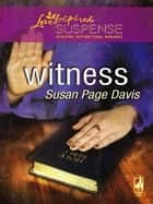 Witness ebook by Susan Page Davis