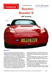 Porsche Boxster Buying Guide ebook by Mellor, Chris