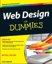 Web Design For Dummies ebook by Lisa Lopuck