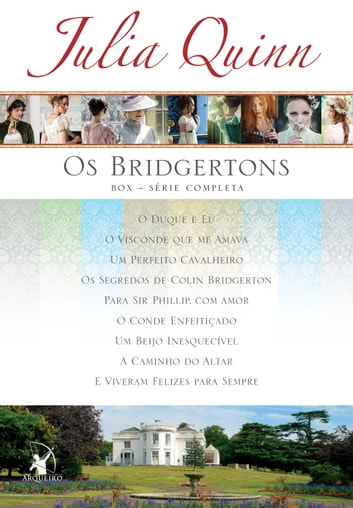 Box Os Bridgertons - Série completa com os 9 títulos ebook by Julia Quinn