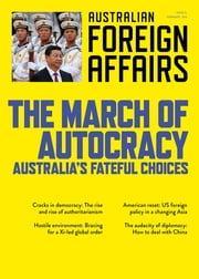 AFA11 The March of Autocracy - Australia's Fateful Choices ebook by Jonathan Pearlman