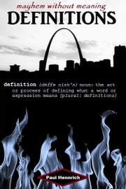 Definitions ebook by Paul Hennrich