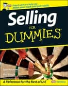 Selling For Dummies ebook by Ben Kench, Tom Hopkins