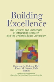 Building Excellence - The Rewards and Challenges of Integrating Research into the Undergraduate Curriculum ebook by Catherine N. Dulmus,Karen M. Sowers