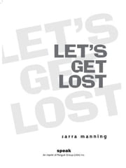 Let's Get Lost ebook by Sarra Manning