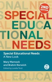 Special Educational Needs - A New Look ebook by Baroness Mary Warnock,Professor Brahm Norwich,Dr Lorella Terzi,Professor Christopher Winch