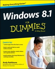 Windows 8.1 For Dummies ebook by Andy Rathbone