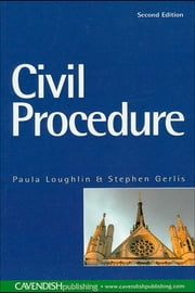 Civil Procedure ebook by Paula Loughlin,Stephen Gerlis