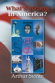 What's Wrong In America? - A look at troublesome issues in our country ebook by Arthur Siccan