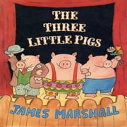 Three Little Pigs, The audiobook by James Marshall