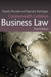 Commonwealth Caribbean Business Law ebook by Natalie Persadie,Rajendra Ramlogan