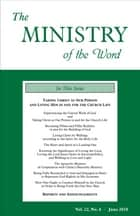 The Ministry of the Word, Vol. 22, No. 6 - Taking Christ as Our Person and Living Him in and for the Church Life ebook by Various Authors