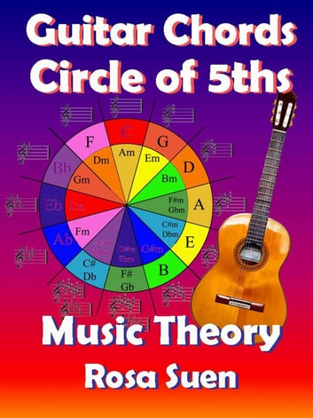 Music Theory Guitar Chords Theory Circle Of 5ths Ebook By Rosa