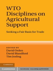 WTO Disciplines on Agricultural Support - Seeking a Fair Basis for Trade ebook by David Orden,David Blandford,Professor Tim Josling