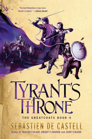 Tyrant's Throne ebook by Sebastien de Castell