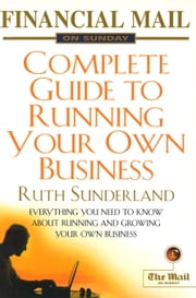 Fmos Guide To Running Your Own Business ebook by Ruth Sunderland